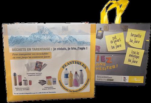 Nos sacs polypropènes réutilisables, résistants et respectueux de l'environnement