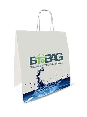 Les sacs en papier «Aquakraft»: Résistant à l'eau