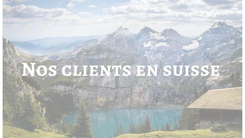 Nos clients en Suisse