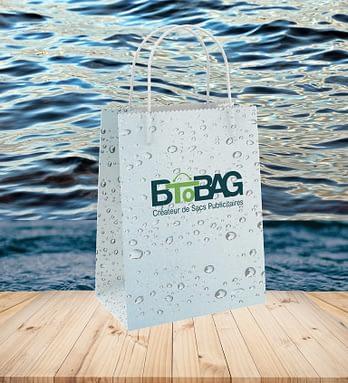 Pourquoi les sacs AquaKraft sont-ils idéals pour la vente à emporter ?