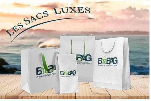 Les sacs en papier luxe : un excellent support pour booster votre visibilité !