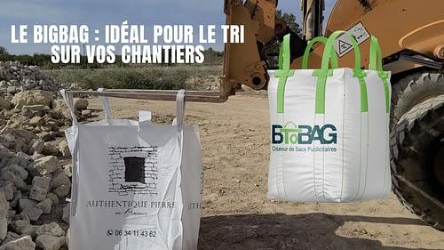Collecter et évacuer vos déchets de chantier grâce au Big bag chantier