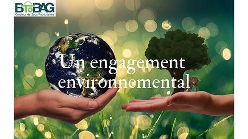 Sac kraft, un engagement environnemental